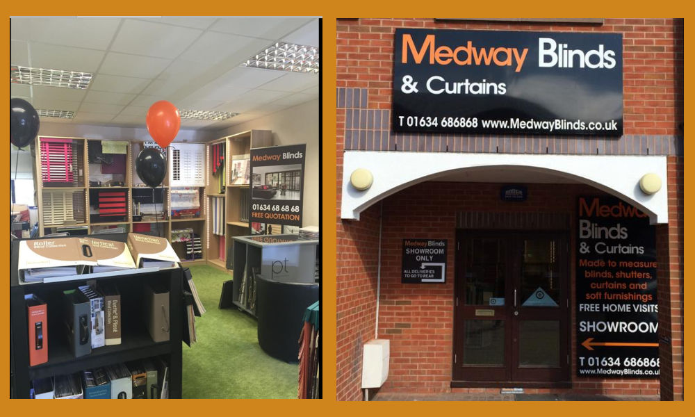 Medway Blinds Showroom